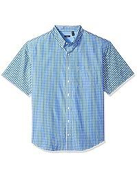 Izod mens Big and Tall Saltwater Breeze Short Sleeve Shirt