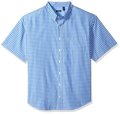 all Saltwater Breeze Short Sleeve Shirt, Blue Revival, 3X-Large ()