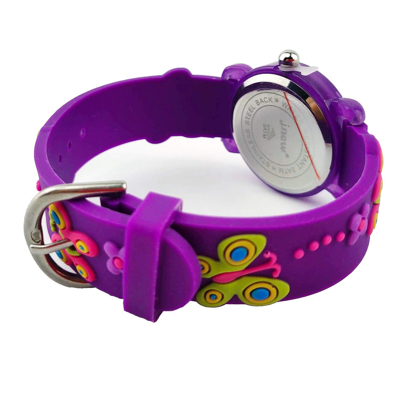 Kids Watches, 3D Cute Cartoon Waterproof Watch for Girl Children Toddler Wrist Watches by Akaru (Image #5)