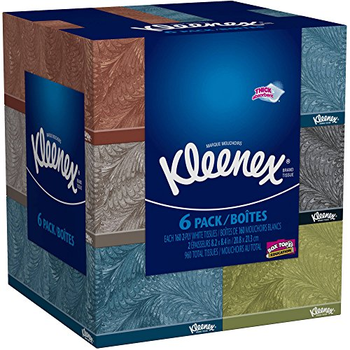 kleenex-everyday-use-soft-facial-tissues-thick-and-absorbent-160-2-ply-white-tissues-6-bundle-pack-9