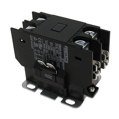 [FPER_4992]  Rheem Ruud 30A 1 Pole Contactor with 24V Coil 42-25101-01 (Оne Расk):  Amazon.com: Home Improvement | Rheem Heat Pump Contactor Wiring Diagram |  | Amazon.com