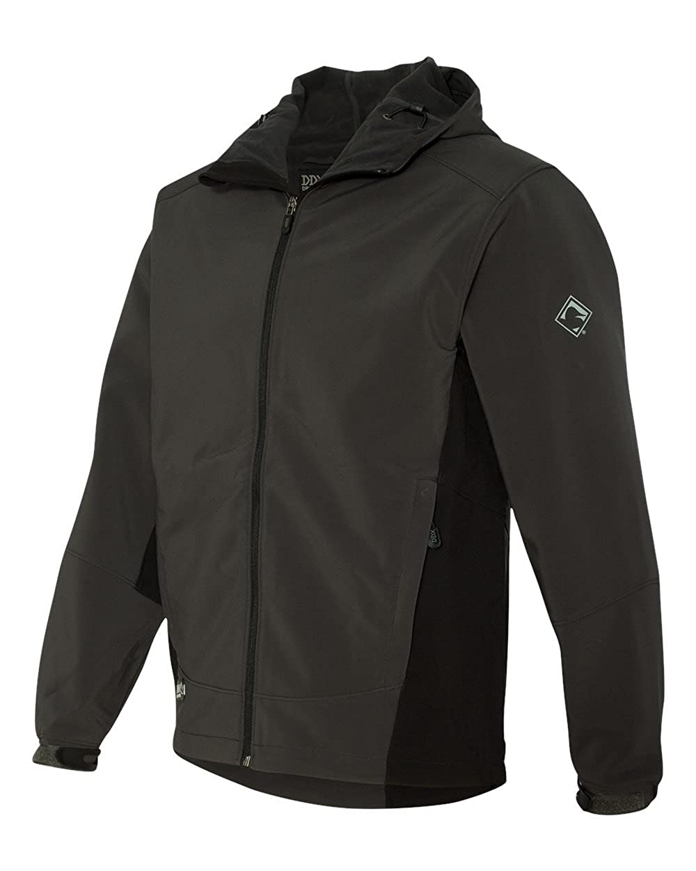 DRI Duck Mens 5367 Altitude Wind//Water Resistant Hooded Soft Shell Jacket