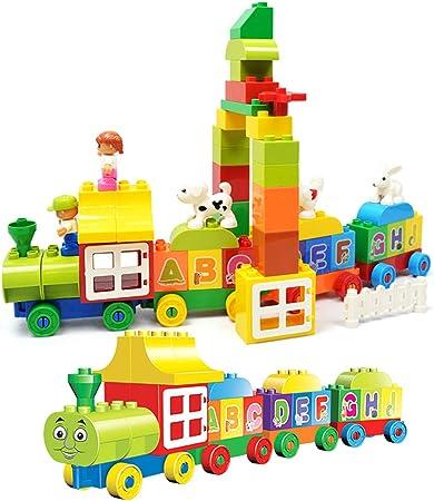 Kinder Holz Zahlen Eisenbahn Zug Zahlenzug 0-9 Geschenk Zug-Spielzeug  ^
