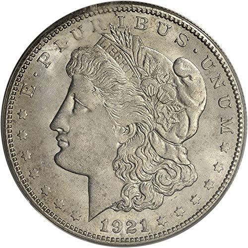 1921 MORGAN DOLLAR SILVER EXCELLENT CONDITION VERY RARE US COIN - Morgan Very Dollar Nice Coin