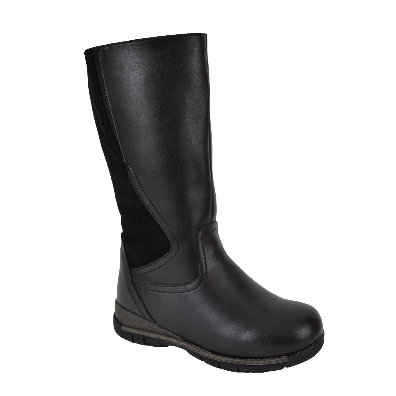 Comfy Moda Women's Winter Boots Waterproof 3M Thinsulate Wide Toe Toasty Warm Temperature Rating -25°F/-32°C Alberta Black