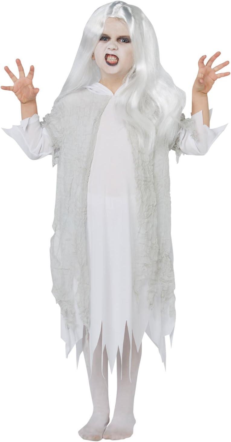 Rubies - Disfraz y peluca de fantasma de Halloween para niños ...