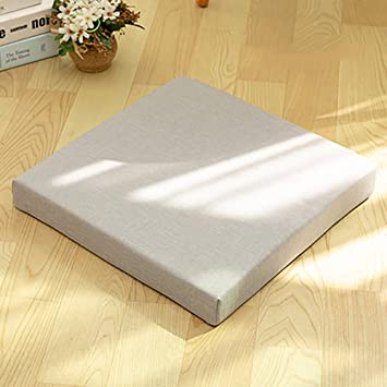 Amazon.com: Pack of 4 Seat Cushions, Square Japanese Tatami ...