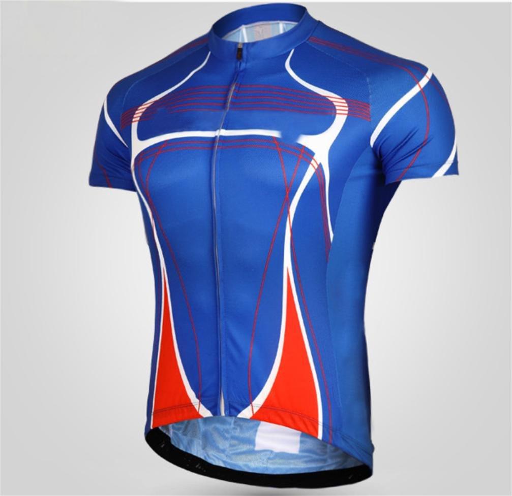 Jersey HL Einen.Kreislauf.Durchmachenwear Kurzärmelige Anzug Sommer MTB Fahrradhose Elastisch Schnell Trocknend Kleidung Männer