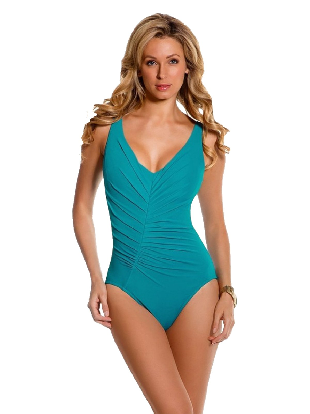 Magicsuit by Miraclesuit Charlize Body Style One Piece Swimsuit 8 Jade