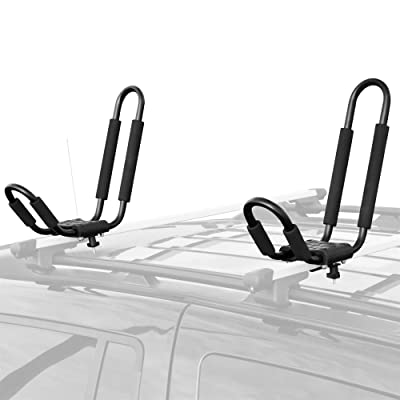 Apex T-RACK-DLX T-Rack Kayak & Canoe Roof Carrier Rack: Automotive
