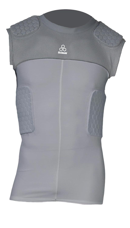 McDavid Hexpad Hexmesh Sleeveless 5 Pad Compression Body Shirt 787