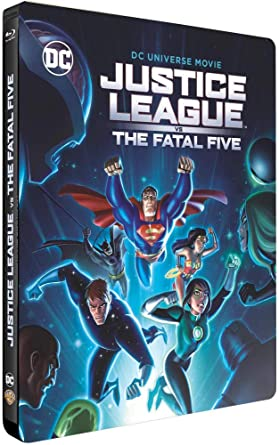 Justice League vs The Fatal Five [Italia] [Blu-ray]: Amazon ...