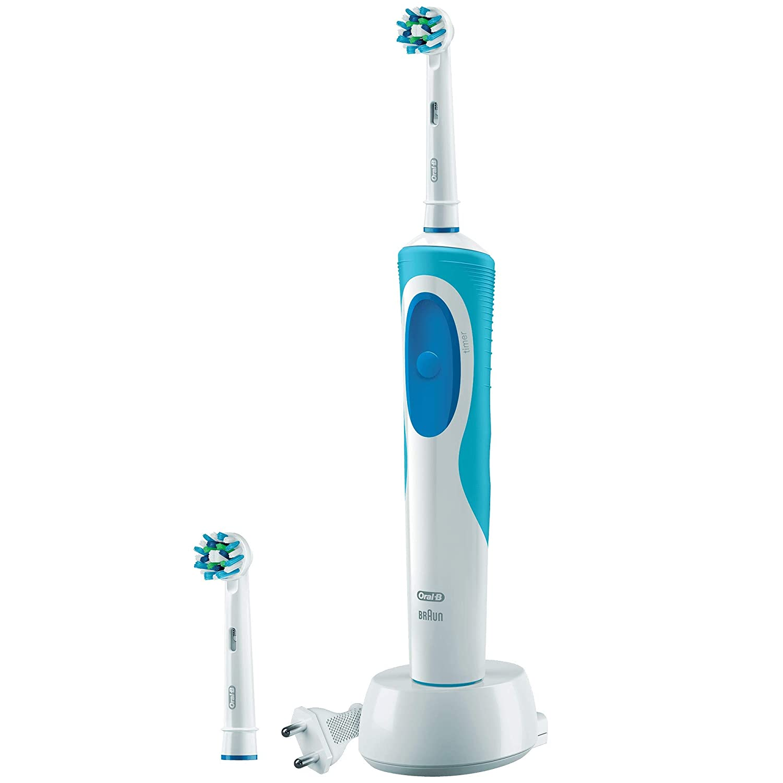 Amazon.com: Braun Oral-B Vitality Crossaction Electric Toothbrush, 220 Volts: Beauty