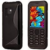 S-Hardline Back Cover for Nokia 150 (Black, Flexible Case)
