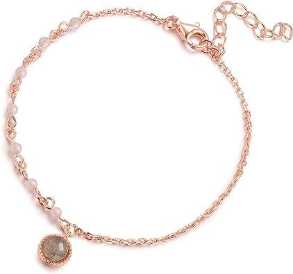 Rose Gold  Silver Bloosom Bracelet