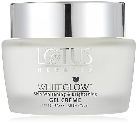 Lotus Herbals Whiteglow Skin Whitening And Brightening Gel Creme