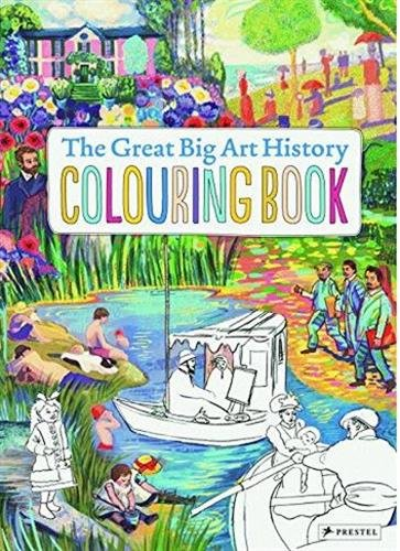 Paintings The Great Big Art History Colouring Book