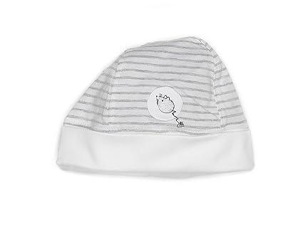 bfc Babyface - Gorro gris de 95% algodón 5% licra5, talla: 62/68cm ...