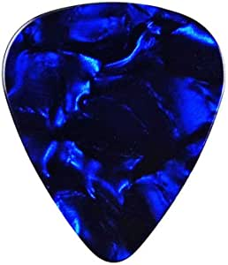 QHG1 Purple Guitar Pick Lapel Pin