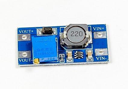 De Step Up Boost Power Converter mt3608 para Arduino Raspberry DIY de Projects Manualidades