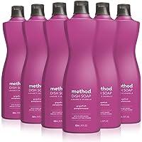 Method Liquid Dish Soap, Grapefruit, 18 Fl Oz (Pack of 6)
