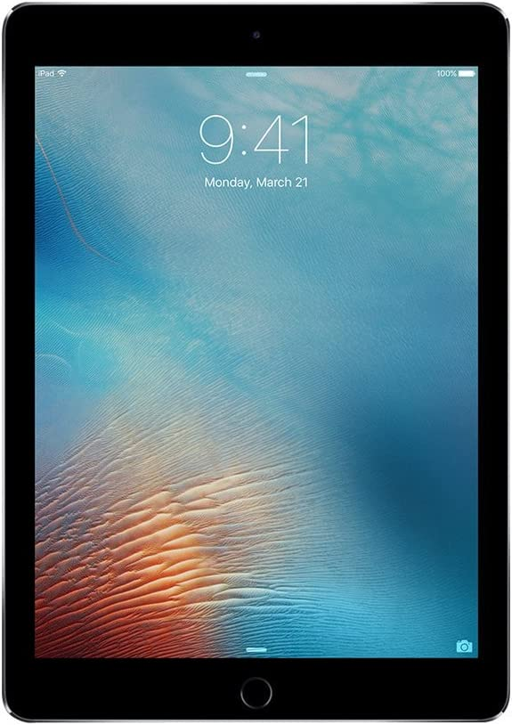iPad Pro 9.7-inch (32GB, Wi-Fi + Cellular, Space Gray) 2016 Model (Renewed)