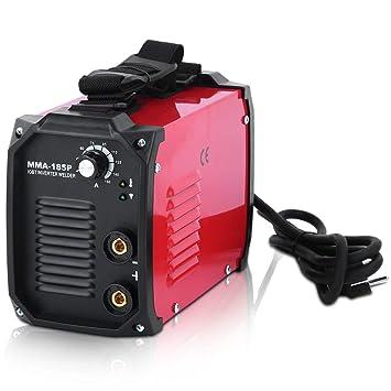 SWEEPID MMA-185P - Soldador de alambre de relleno (230 V, MMA 10-160A, con alambre de llenado automático, sin boquillas): Amazon.es: Bricolaje y ...