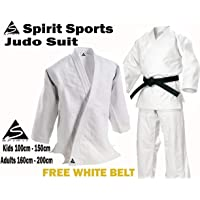 Spirit Sports Judo Entrenamiento Uniforme 550grm 100% algodón