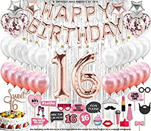 Amazon 16th Birthday Decorations Party Supplies Sweet 16