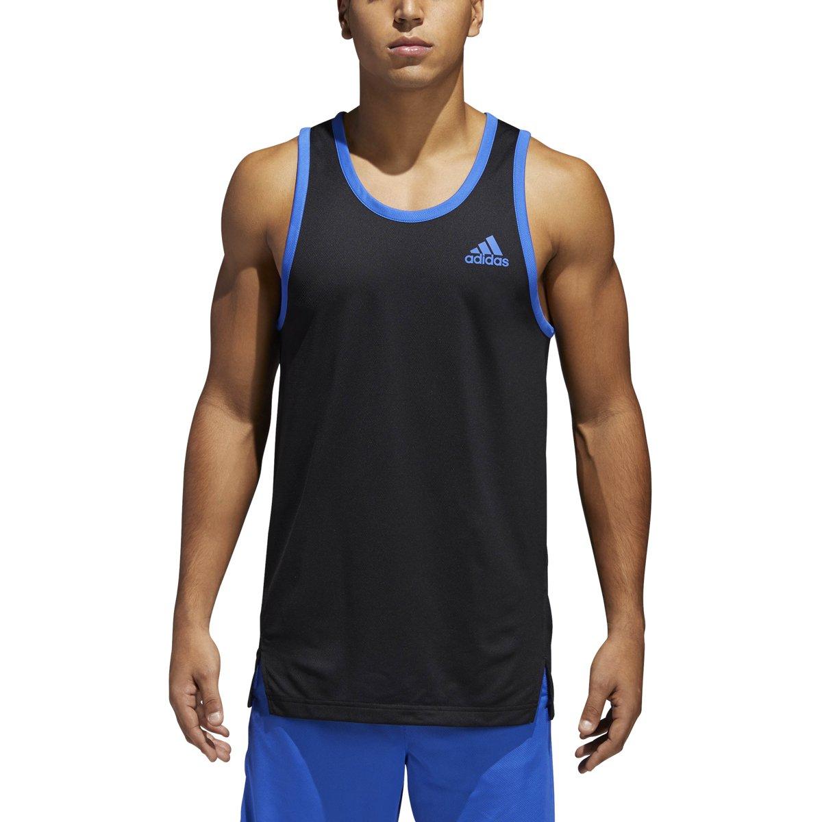 adidas Men's Sport Tank Top Black X-Large