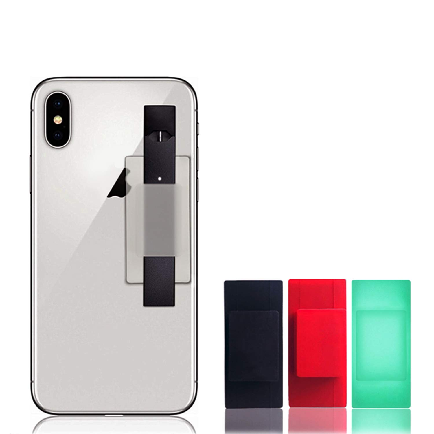 Case Only, No Device Included Car Dashboard Never Forget or Lose Your JUUL 4351663733 Tablets Black Samsung Galaxy Swee Cell Phone Holder Compatible with JUUL Accessory Compatible with iPhone