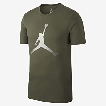 c53041659057 Nike Herren M Jsw Tee Iconic Jumpman T-Shirt  Amazon.de  Sport ...