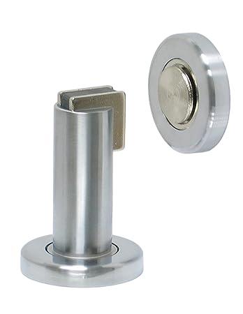 Amazon.com: FPL Door Locks H2017 Heavy Duty Magnetic Door Stop / Holder For  Home Or Office In Satin Chrome: Home Improvement