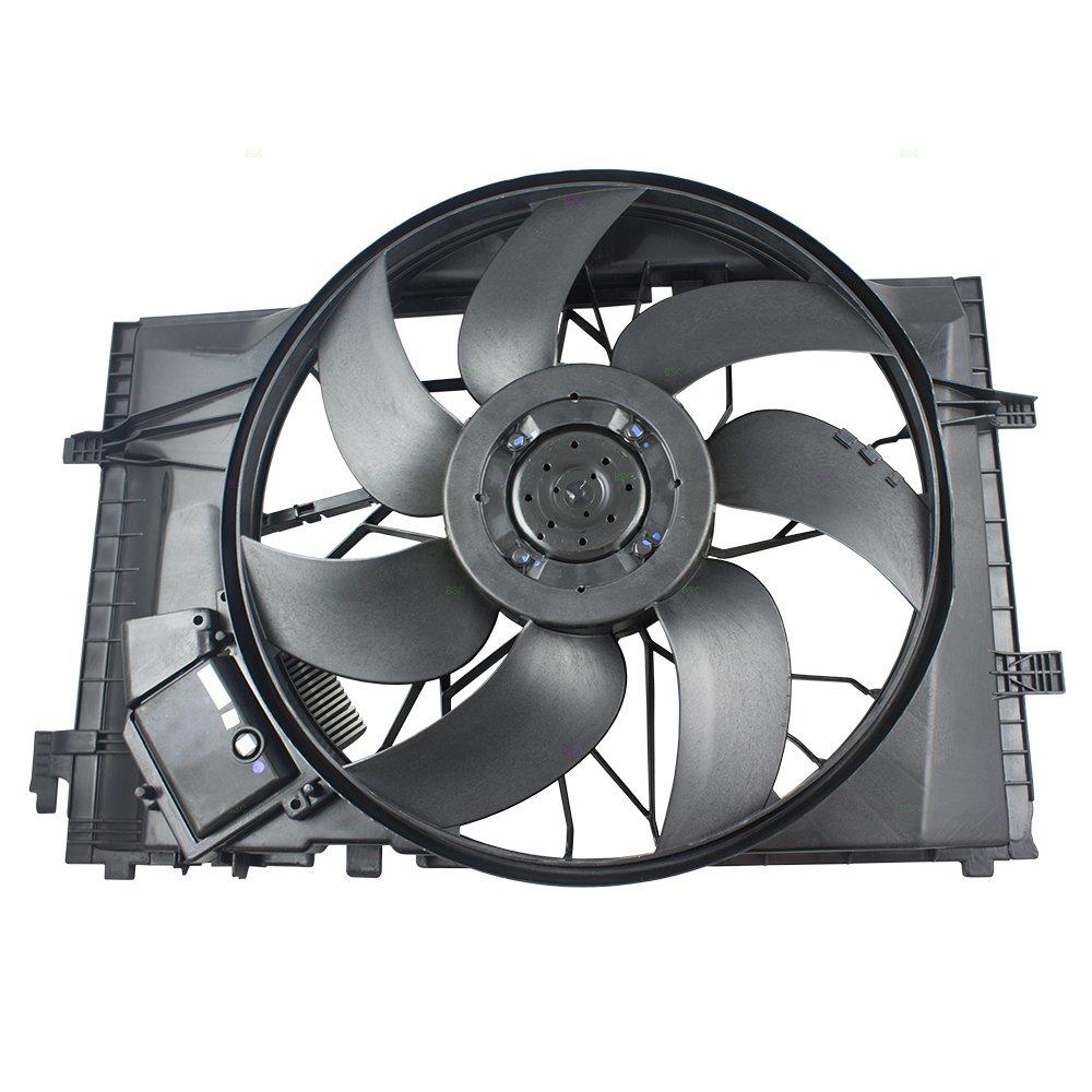 Radiator Fan Motor Assembly Replacement for Mercedes-Benz C-Class & CLK320  2035000293 AutoAndArt
