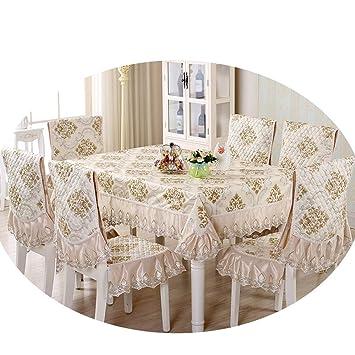 Fabulous Amazon Com Ndjqer 13 Pcs Set Rectangular Table Cloth Set Forskolin Free Trial Chair Design Images Forskolin Free Trialorg