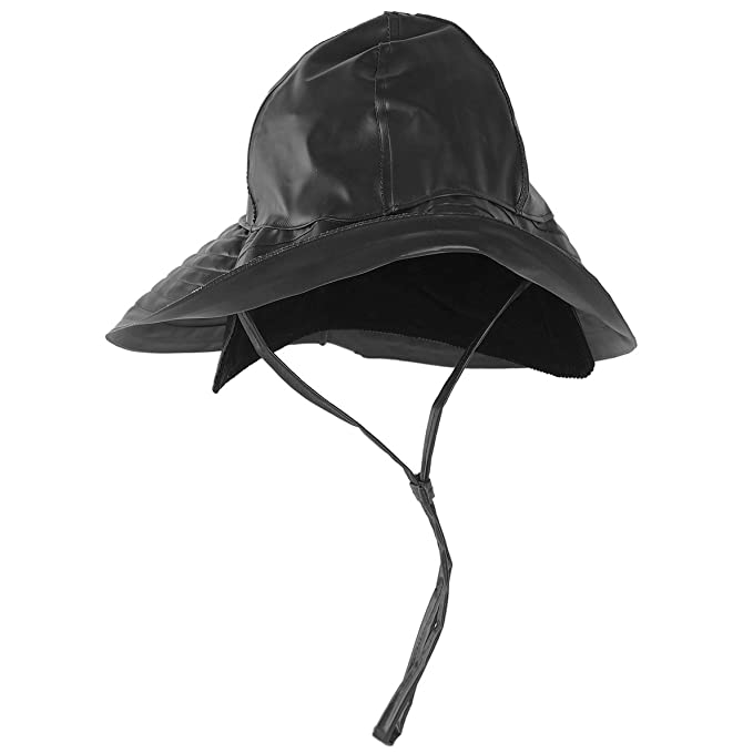 99501b49c6561 Mil-Tec Southwestern Rain Hat Black at Amazon Men s Clothing store