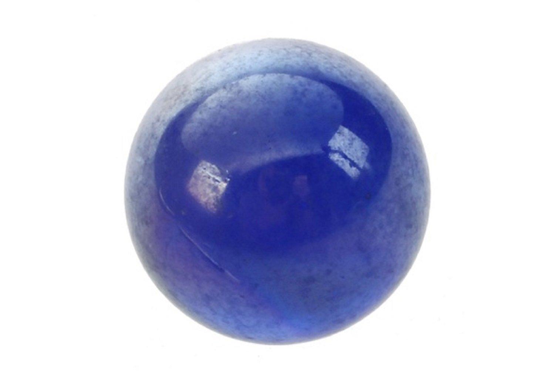 Smartbuyer 50 Pcs Marbles 16mm Blue Knicker Glass Balls Decoration