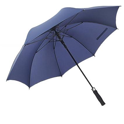 Moliies Paraguas Impermeable Automático Super Grande Impermeable Largo Impermeable 8 Parasol Impermeable A Prueba de Viento