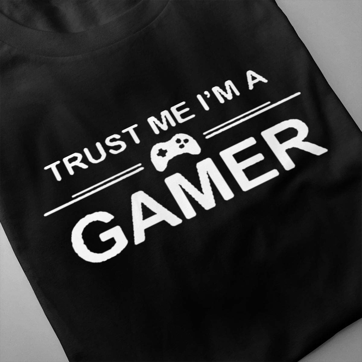 Smooffly Men Trust Me Im A Gamer Classic Crew-Neck Short Sleeve Tee