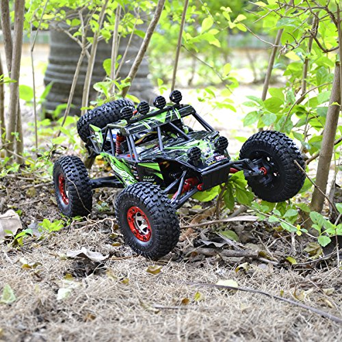 Tecesy RC 4x4 Racing Car Eagle-3 1/12 Scale 25+MPH Desert RC Buggy Off-Road Truck Electric RC Crawler RTR