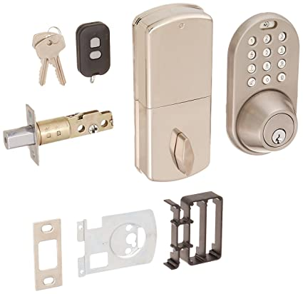 MiLocks XF 02SN Digital Deadbolt Door Lock With Keyless Entry Via Remote  Control And Keypad