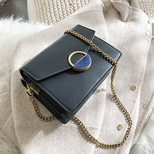 Femme À Simple Carré Sac Petit Noir Main Rétro Messenger Mode Xmy Pour Bag nwpEPHn0x