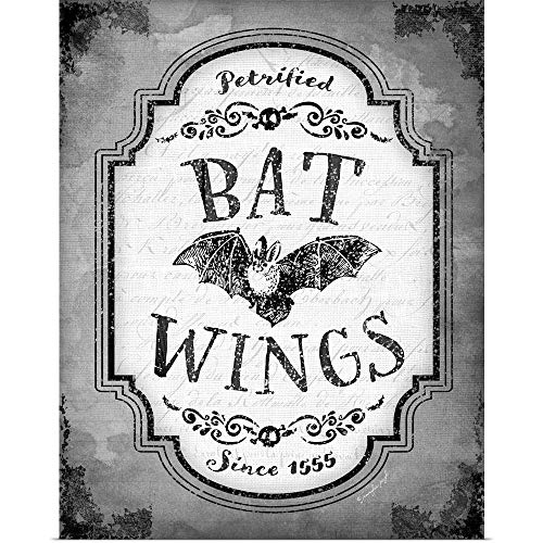 GREATBIGCANVAS Poster Print Entitled Bat Wings by Jennifer Pugh 29