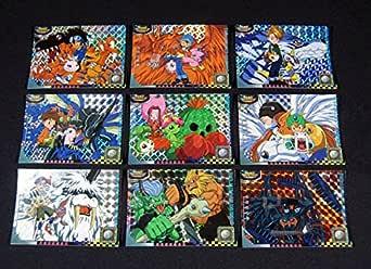 HOLO FOIL Cards COMPLETE SET #s P1-P9 Japan DIGIMON ADVENTURE Series 2