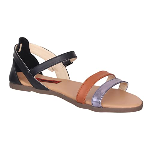 723e8bffb95a31 1 WALK Comfortable Women-Flats Sandals Fancy WEAR Party  WEAR Original Casual Footwear-Multi Color  Buy Online at Low Prices in  India - Amazon.in