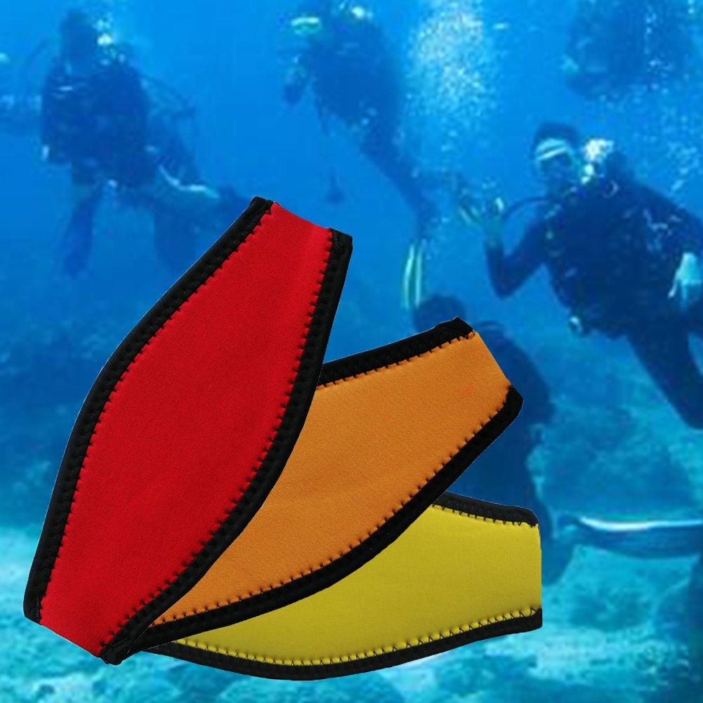 Best Divers Sangle Masque en N/éopr/ène double velcro an/émone