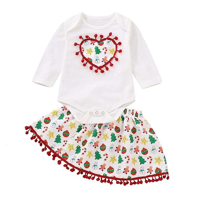 Vestidos Bebe Niña, Tefamore Vestido de Princesa Bebé Recién Nacido ...