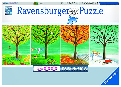Panoramic 500 Piece Puzzle - Ravensburger Four Seasons Panorama Jigsaw Puzzle (500 Piece)