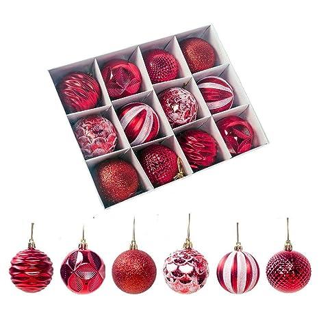 Weihnachtskugeln Christbaumschmuck silber matt glänzend bruchfest 6 Stück