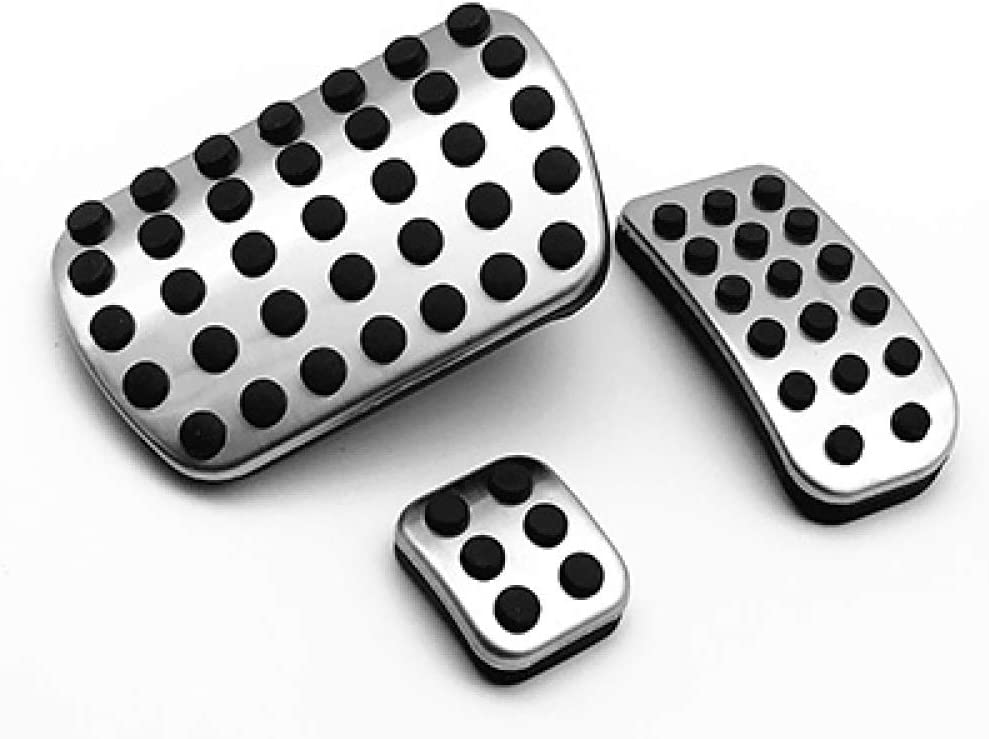 JNXZHQC Autoteile Pedal Pad./F/ür Mercedes-Benz AMG W176 W245 W246 W251 W164 W166 X164 X166 C177 X156 AB CLA GLA ML GL R